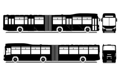 City bus, vector
