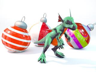 New Year's dragon
