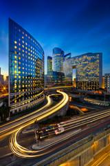 Fototapete - immeubles modernes