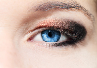 Woman eyes.