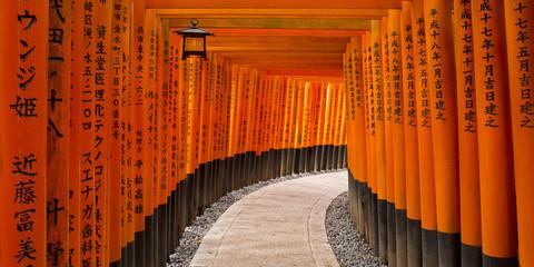 Fototapete - Fushimi Inari Schrein