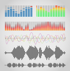 Graphic equalizer types