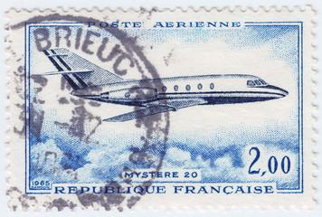 France shows plane