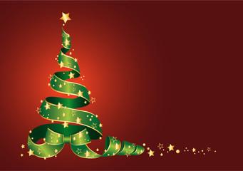 Weihnachtsbaum mit Sterne