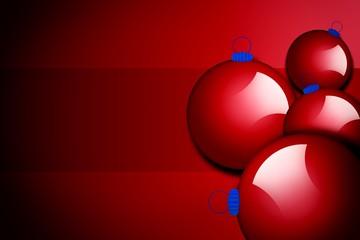 Christmas balls,