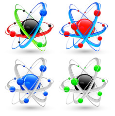 Atom variation color