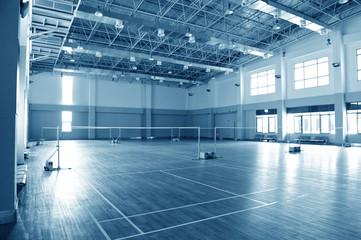 Foto op Plexiglas Stadion badminton court
