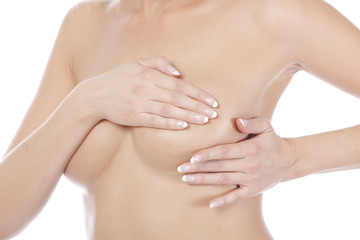 Breast palpation