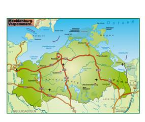 Mecklenburg-Vorpommern_Umgebung_bunt
