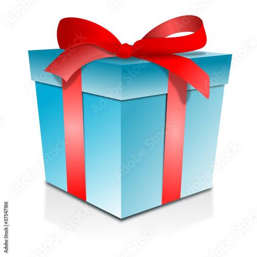 Geschenk Paket Blau Stockfotos Und Lizenzfreie Vektoren Auf Fotolia