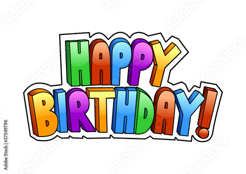 Happy Birthday Schrift Graffiti ~ Quot happy birthday graffiti stock image and royalty free vector files on fotolia pic