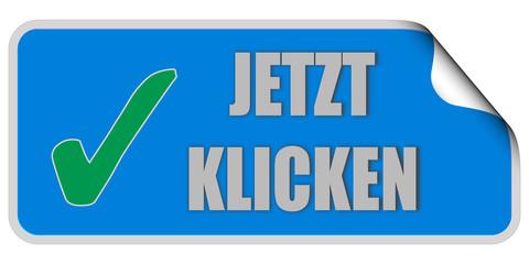 CB-Sticker eckig blau curl oben JETZT KLICKEN