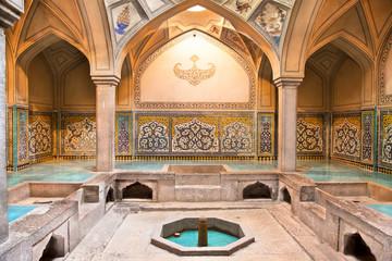 Hammam-e Ali Gholi Agha historic bath, Esfahan,  Iran