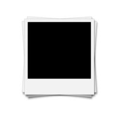 Polaroid Stapel
