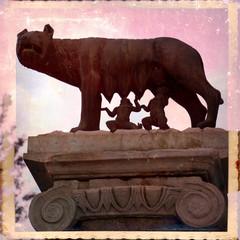 Lupa con Romolo e Remo, Campidoglio, Roma