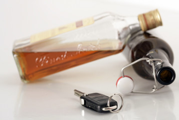 Bier, Schnaps und Autofahren