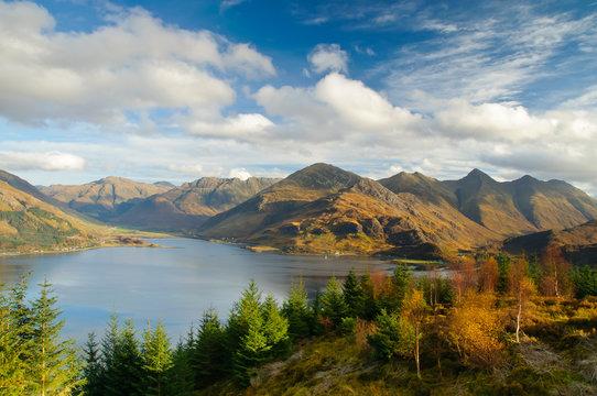 Landscape of Scottish Highlands