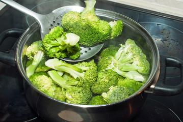 broccoli ready to prepare