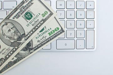 Keyboard and dollars