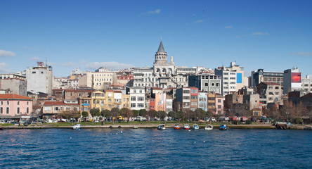 Galata Tower from the Golden Horn