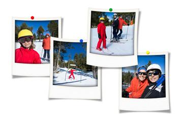 souvenirs du ski