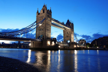 Foto op Canvas London Evening Tower Bridge, London, UK