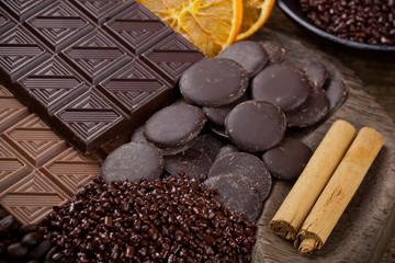 Poster Coffee beans Cioccolata