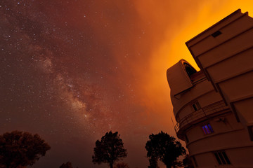 Observatory and Fire