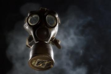 Vintage Gas Mask Ispolated