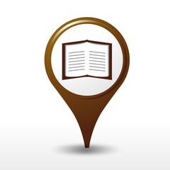 icône librairie, logo librairie