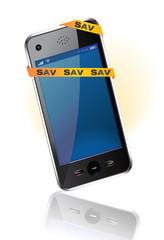 SAV des smartphones