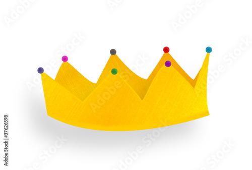Couronne galette des rois photo libre de droits sur la - Decoration couronne des rois ...