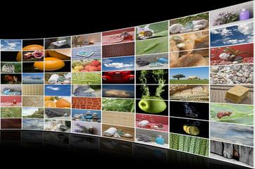 Tecnología punta en medios de comunicación audiovisuales.