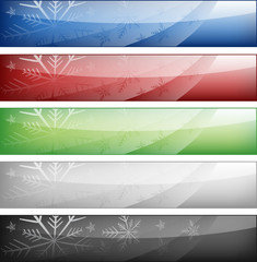 Winter web banners