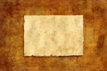 worn paper