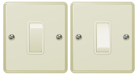 Light switch illustration