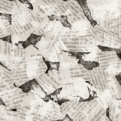 Papiers peints Journaux collage background