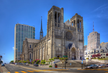 Stores photo San Francisco grace cathedral in san francisco