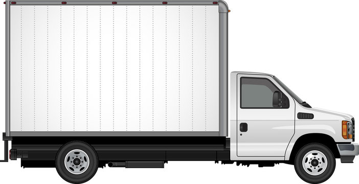 Blank Cube Van