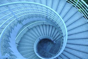 Foto auf Acrylglas Treppe Circular Stairs