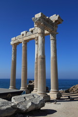 Temple of Apollon, Side, Turkey