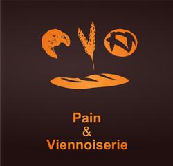 logo pain et viennoiserie