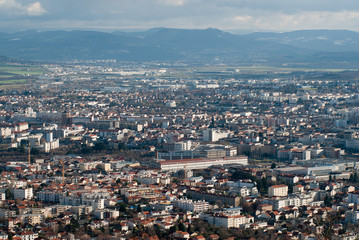 ville vue d'en haut 4