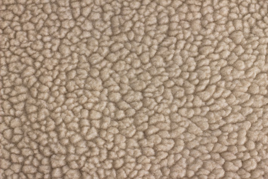 Fleece Sheepskin Lining Texture