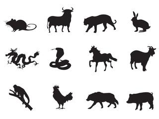 chinese horoscope icons