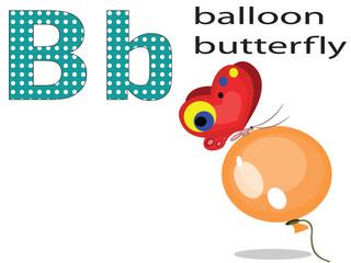 Children alphabet,B