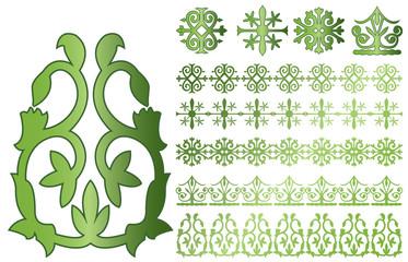 Caucasus ornaments