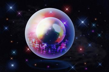 star in crystal ball