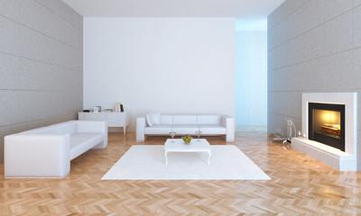 Modern urban interior