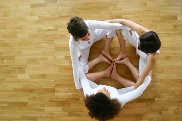 Circle Yoga practice